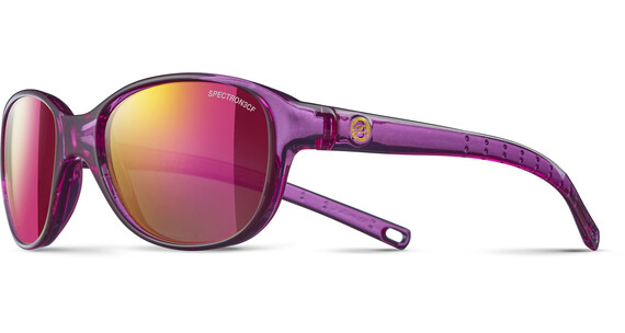 Julbo Kids 4-8Y Romy Spectron 3CF Sunglasses Translucent Purple-Multilayer Pink